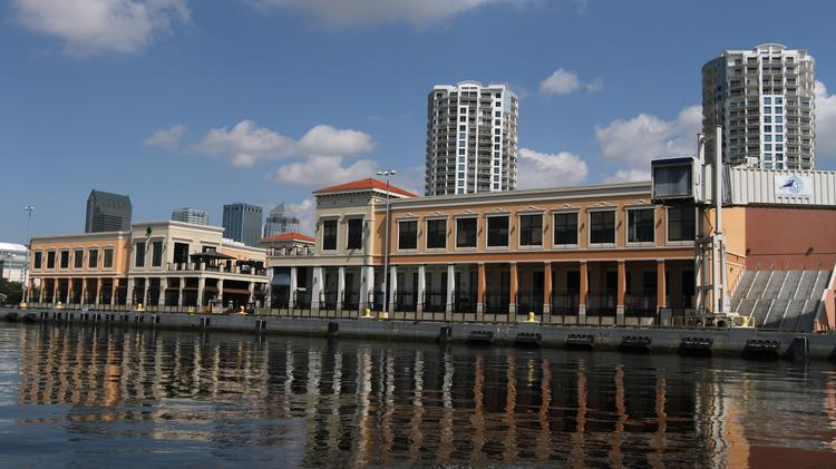 Channelside Bay Plaza from the water.