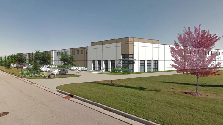 Ryan Cos. is seeking approval for a 158,292-square-foot building at Old Orchard Road and Nightingale Way in Menomonee Falls.
