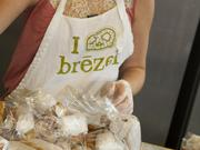 Brezel offers more than 30 varieties of pretzel, with the daily offering anywhere between 10 and 15.