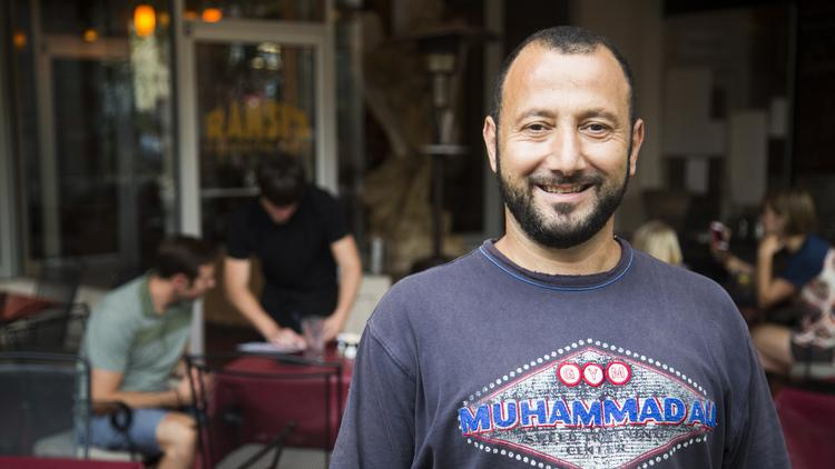 Ramsi Kamar, owner of Ramsi's Café on the World, will be honored as a Kentucky food hero.