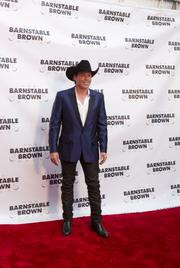 Country music singer Clay Walker arrived at the 2013 Barnstable Brown Gala.