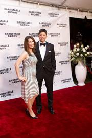 Christopher Barnstable Brown and his wife, Sarah, were photographed on the red carpet at the 25th annual Barnstable Brown Gala. Barnstable Brown said he was just five when the annual tradition began.