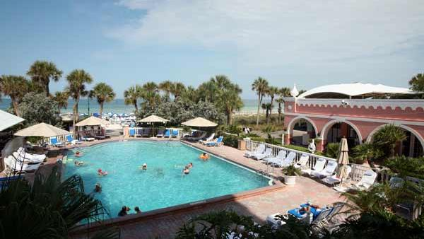 The Don Cesar is one of Tampa Bay's nine four-diamond hotels.