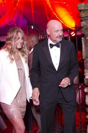 Actor Terry O'Quinn arrived with his date at the 2013 Barnstable Brown Gala.