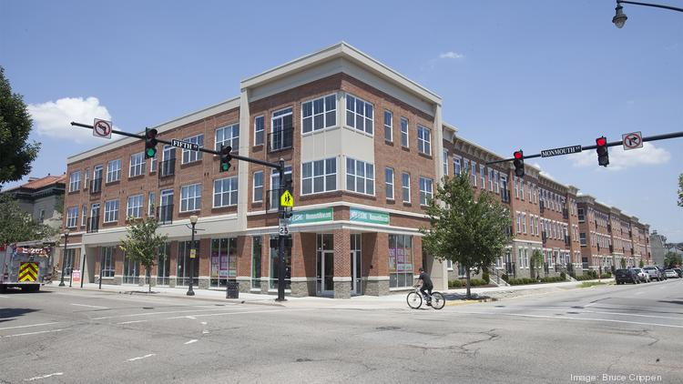 Monmouth Row is a 101-unit development from Towne Properties and Carlisle Enterprises.