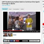 ​For UNF journalism students, it's Berlin or bust