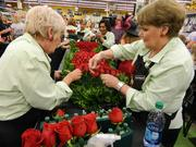 Great care is taken in selecting the best roses to be on the Derby winner's garland.