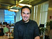 Carlos Herrera, founder and CEO of Petnet, a startup that is participating in Bolt's hardware incubator program.