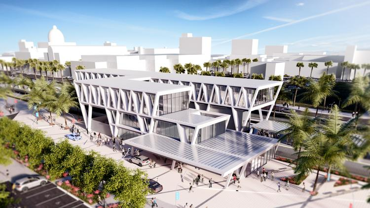 A look at All Aboard Florida's West Palm Beach station.