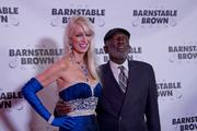 """Garrett Morris currently starring on CBS comedy """"2 Broke Girls"""" was warmly welcomed by Gala co-host Patricia Barnstable Brown."""