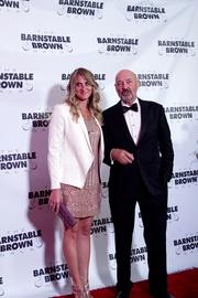 Actor Terry O'Quinn arrives with his date at the 2013 Barnstable Brown Gala.