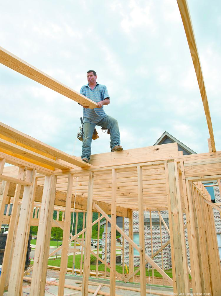 Homebuilders say they are facing a labor shortage.