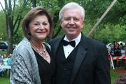 Louisville Metro Council president Jim King attended The Barnstable Brown Gala with wife Deborah King.