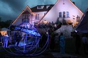 The Barnstable Brown mansion was decorated to celebrate the 25th annual gala, which benefits diabetes research.