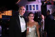 Alan Latts and Kate Latts,of Heaven Hill Distilleries, were guests at The Barnstable Brown Gala.