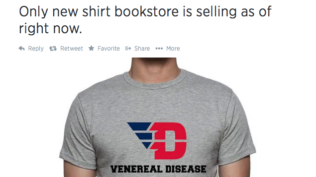 "A lot of the comments included people saying the logo looks live ""VD"" instead of ""UD."""