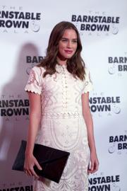 """Actress Christa B. Allen, who portrays Charlotte Grayson on the ABC drama """"Revenge,"""" attended the Barnstable Brown Gala but had no luck betting at the track, saying everyone lost. Allen asked, """"Does anyone win at the Derby?  What's the secret?"""""""
