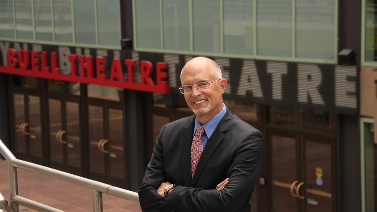 """Randy Weeks, the president of the Denver Center for the Performing Arts, says, """"If you look at metro Denver's demographics, the majority of people trend younger and trend highly educated."""""""