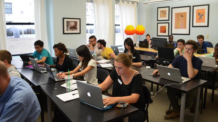 Philly Dev Camp kicked off this week in a Zivtech workroom.