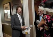 Film director Jerry Bruckheimer had a suite in the Jockey Club Suites area.