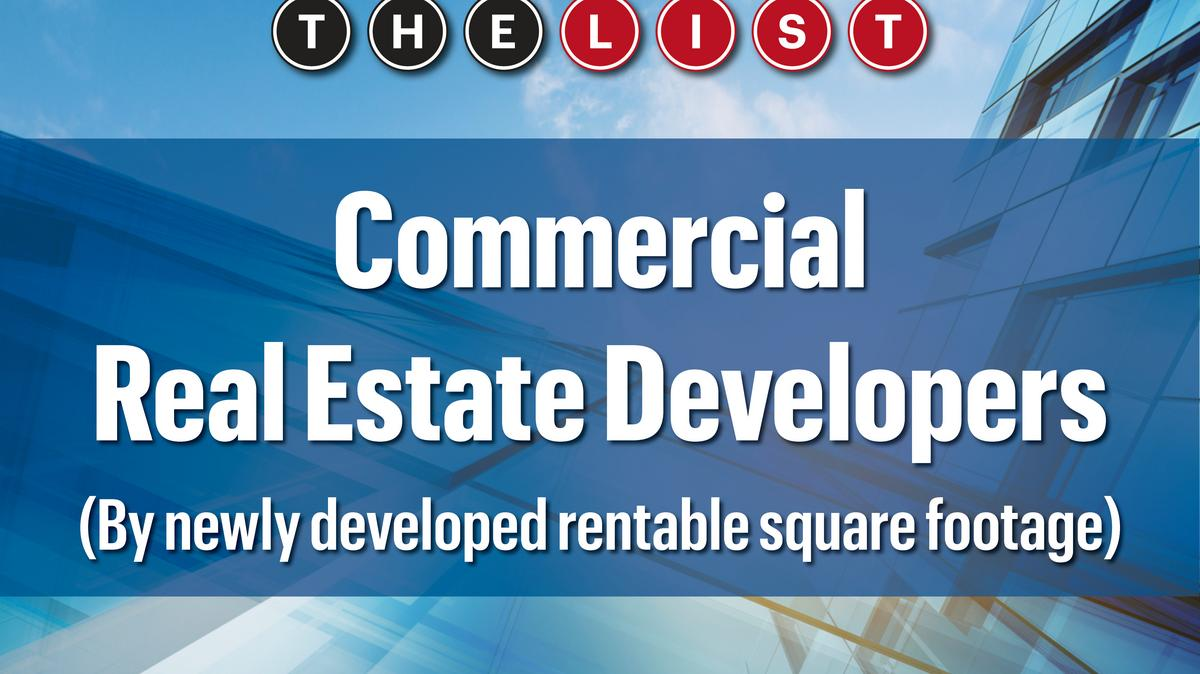 Commercial Real Estate Development : The list top commercial real estate developers south