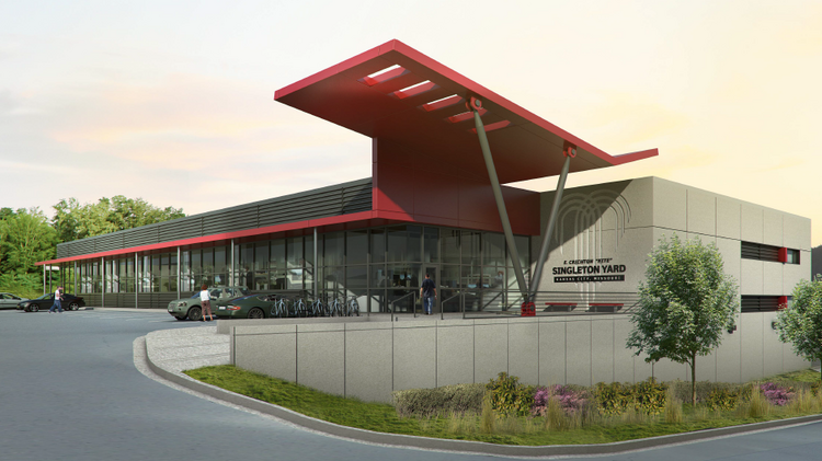 The $10 million Kite Singleton streetcar vehicle maintenance facility is expected to be complete in the summer of 2015.