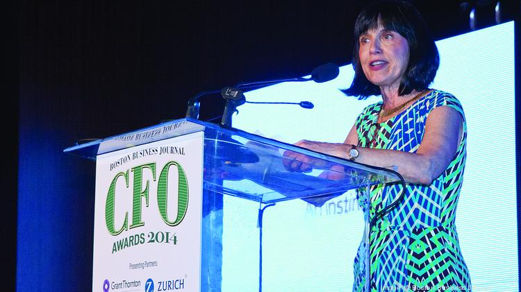 Boston Business Journal Publisher Gail Murray welcomes honorees, their families and co-workers to the Boston Business Journal's CFO Awards.