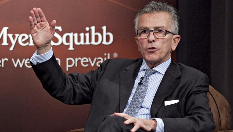 Lamberto Andreotti, president and chief operating officer and chief executive officer of Bristol-Myers Squibb Co.