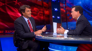 WATCH: Stephen Colbert goes head to head with Tim Draper over 'Six Californias'