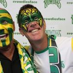 Rowdies' World Cup-inspired face-painting campaign a hit