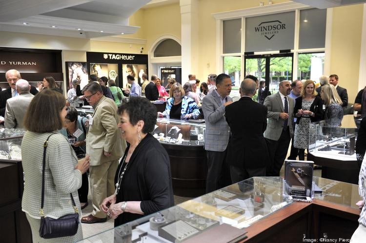 Best Doctors honorees, guests and sponsors mingle at the reception held last week at Windsor Jewelers in Phillips Place.
