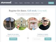 Shareswell is based on the idea that it's better to ask your wedding guests to contribute to your financial future than to a toaster oven.