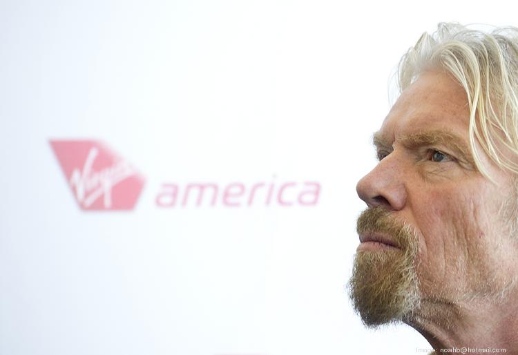 Burlingame-based Virgin America Inc., in which Sir Richard Branson has a minority stake, could go public in the second half of 2014.