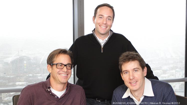 From left, Rich Barton, chairman & co-founder at Glassdoor, Spencer Rascoff, CEO of Zillow and Mark Britton, founder, CEO and president of Avvo. Barton founded Zillow and now serves as executive chairman; Rascoff was a founding employee of Zillow and now is CEO.