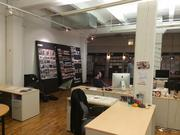 The OKRP space includes an area where work can be displayed and copywriters can retreat to in order to do their thing.