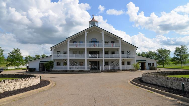 An exterior view of the IronGate Equestrian Center will open its gates to the public Friday.