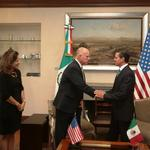 Governor signs energy agreement with Mexico