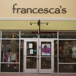 Francesca's CEO steps down after less than two years