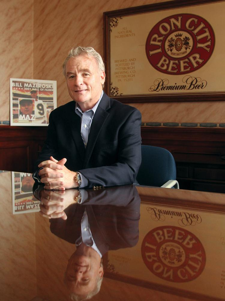 Pittsburgh Brewing Co. CEO Brian Walsh.