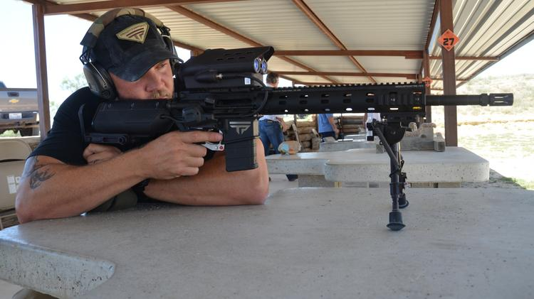 TrackingPoint Inc., which makes high-tech rifles that practically do the aiming for you, has resumed taking orders after the company entered receivership in May and stopped doing business.