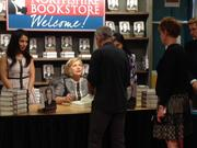 More than 1,100 tickets were sold the Hillary Clinton book signing at Northshire Bookstore in Saratoga Springs on July 29.