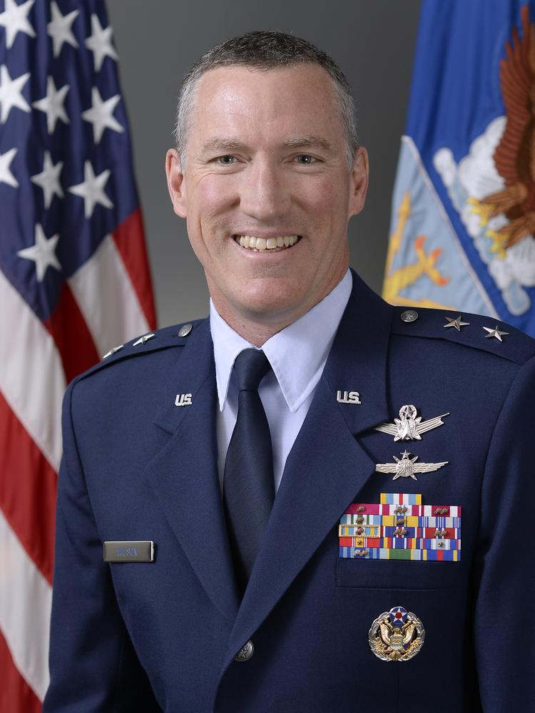 Major Gen. Burke Wilson will be installed as the new commander for the 24th Air Force at Joint Base San Antonio-Lackland.