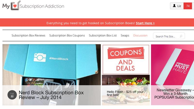 my subscription addiction homepage[1]