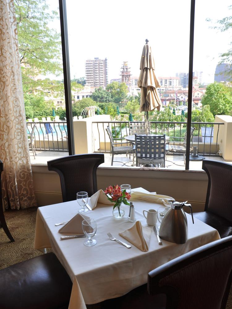 One of the InterContinental Kansas City at the Plaza's charms are its beautiful views of the Country Club Plaza.