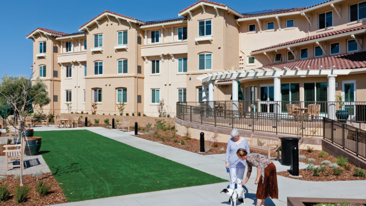 McAuley Meadows, A 60 Unit Affordable Housing Project For Seniors, Is Being  Dedicated