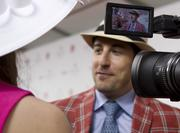 "Actor Jason Biggs from ""American Pie"" talked to reporters Saturday."