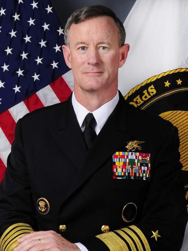 Adm. William McRaven is the sole finalist for chancellor of the University of Texas System.
