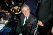 Singer Tony Bennett attends a dinner at The Ritz-Carlton in D.C. on May 1 for the Atlantic Council's Distinguished Leadership Awards dinner.