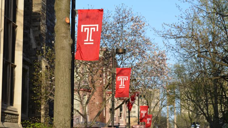 Temple University broke its fundraising record for the second year in a row.