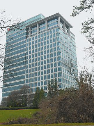 Prominence Building on the Buckhead Loop by Georgia 400. More than 6-acres next to the building could be reconsidered as a potential office project.